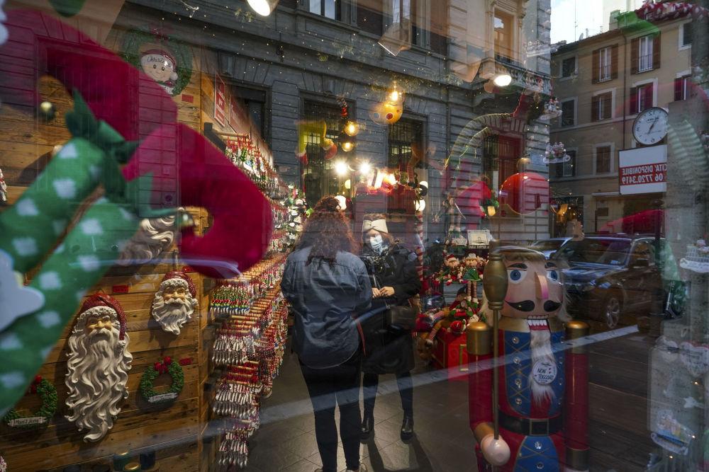 羅馬的聖誕節裝飾