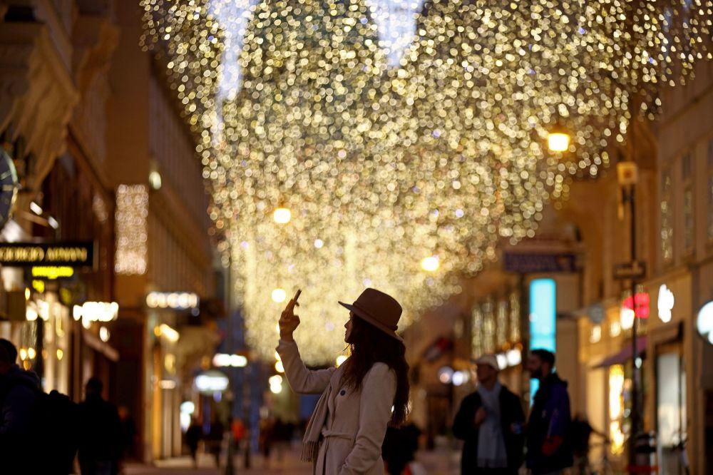 維亞納的聖誕彩燈
