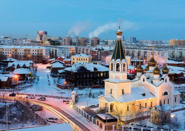 薩哈(雅庫特)共和國首府雅庫茨克市