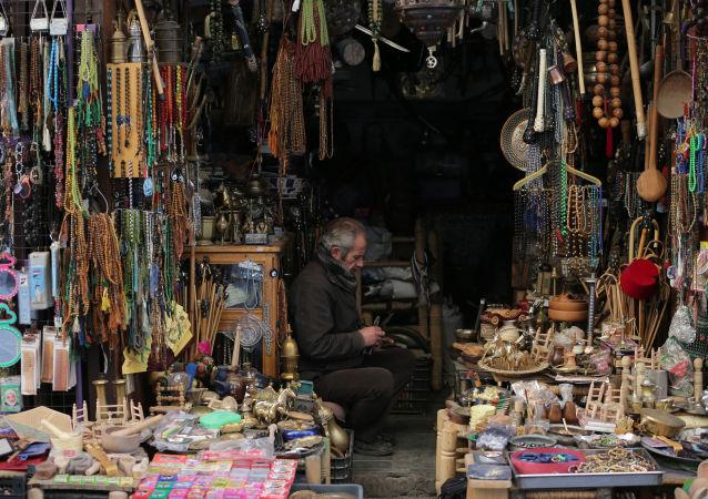 敘利亞阿勒頗舉行戰後首個傳統工藝展銷會