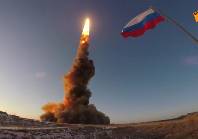 俄羅斯進行放空系統導彈試射