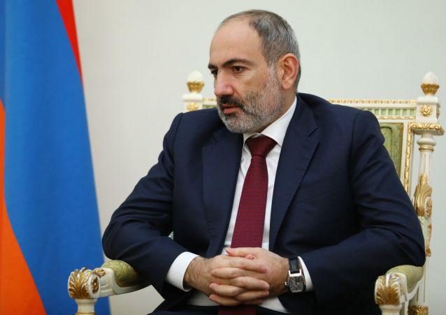 亞美尼亞總理尼古拉•帕辛揚