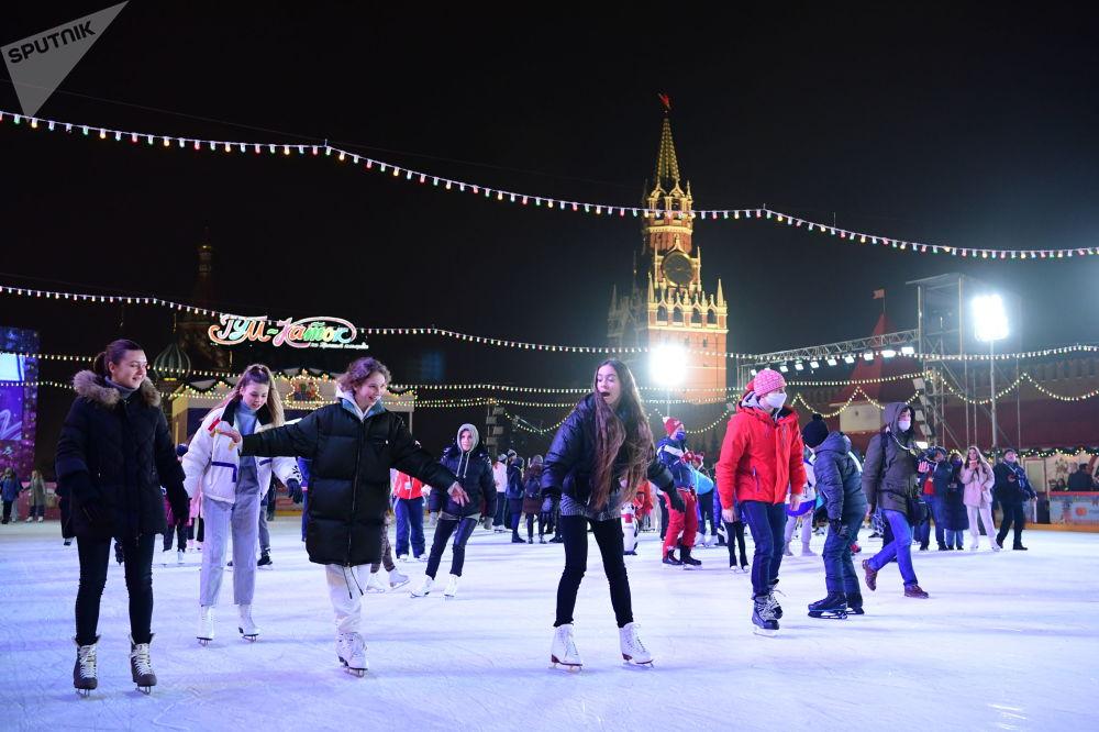 古姆溜冰場新溜冰季啓動儀式