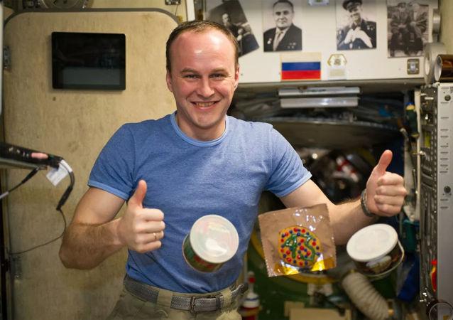 俄羅斯宇航員謝爾蓋•梁贊斯基
