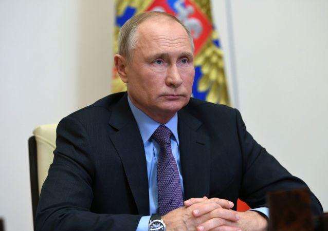 普京與政府官員召開會議