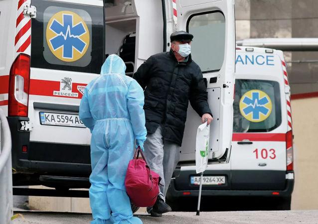 烏克蘭過去一天新增新冠病毒感染確診病例8404例