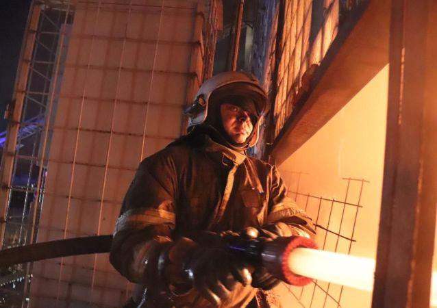 俄緊急情況部:巴什科爾托斯坦一慈善之家發生火災致11人遇難 4人獲救