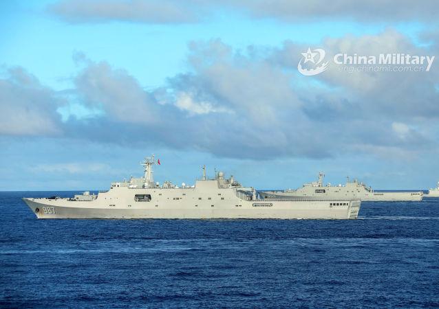 中國和新加坡海軍將舉行海上聯合演習