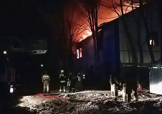 莫斯科州生物實驗室大火被撲滅