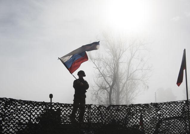 俄維和人員在納卡