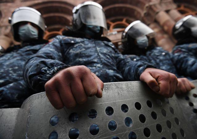 亞美尼亞警方