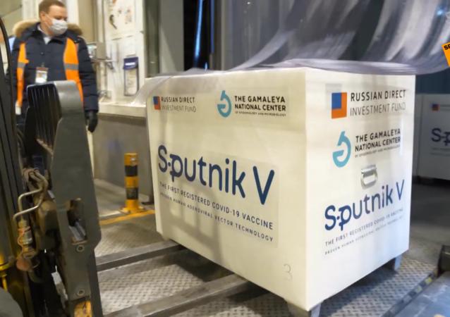 裝載有「衛星-V」疫苗的飛機已飛往阿根廷
