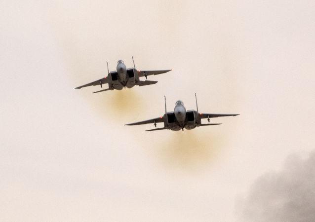 以色列空軍F-15戰機