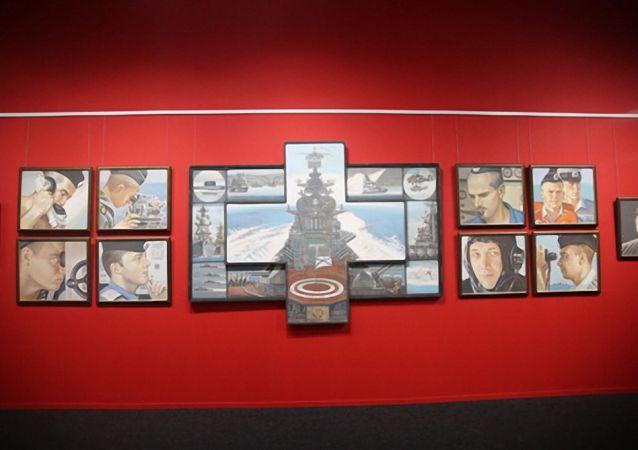 俄羅斯格列科夫軍事藝術家工作室常設展在「愛國者」公園開幕