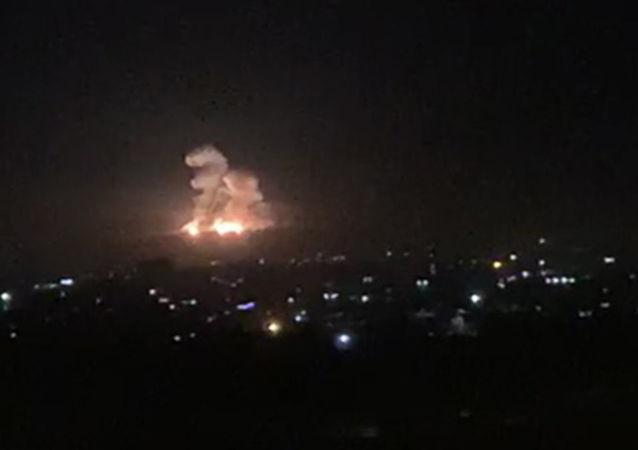 媒體:以色列空襲敘利亞致4死4傷