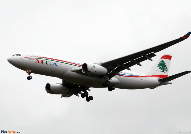 黎巴嫩中東航空公司的Airbus A330-200客機
