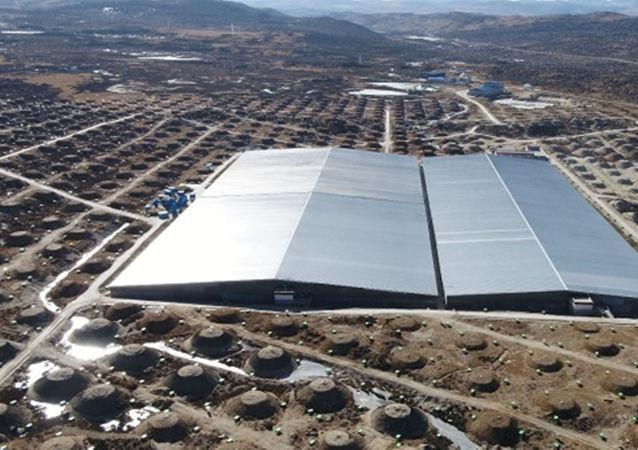 中國高海拔宇宙線觀測站水切倫科夫探測器