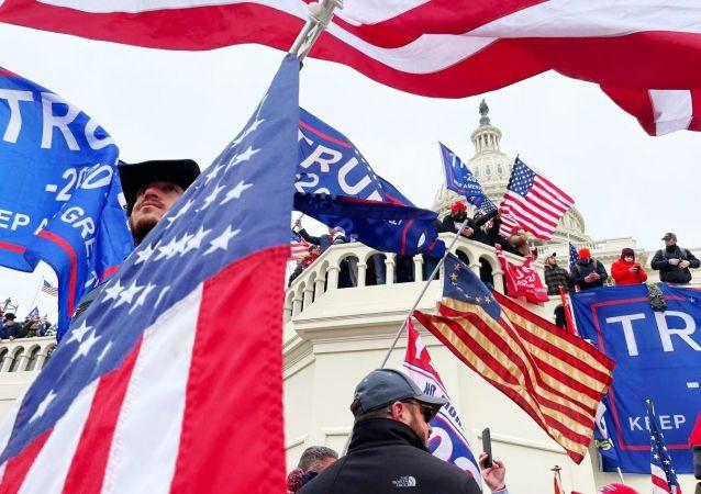 美國60%以上的選民認為特朗普對國會大廈騷亂事件負有責任