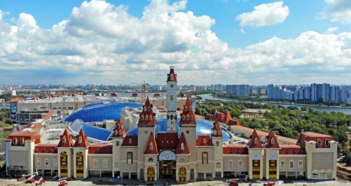 鳥瞰「夢幻島」娛樂公園