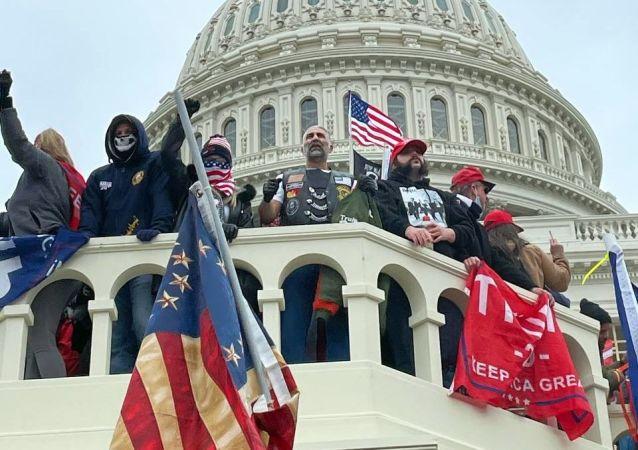 攻擊美國國會