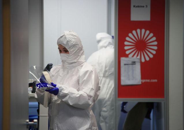 羅伯特∙科赫研究所:德國單日新增新冠病毒感染病例超2.5萬例