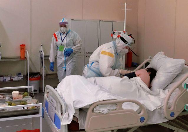 俄單日新增新冠病毒感染病例22857例 累計超359.1萬例