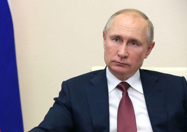 普京表示,全球安全體系正在退化