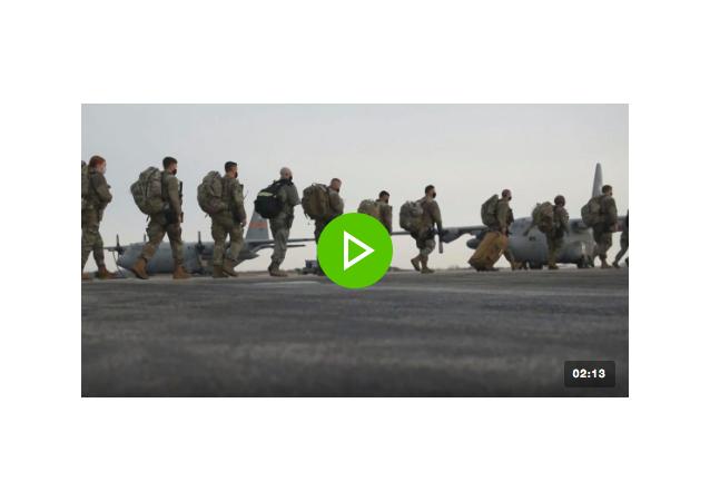國民警衛隊士兵前往華盛頓為拜登就職做準備