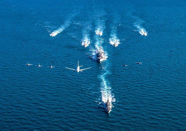 沙特和蘇丹海軍開始在紅海的演習