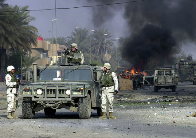 美國軍人在巴格達(資料圖片)