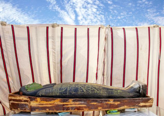 考古學家在埃及發現54具古代木棺