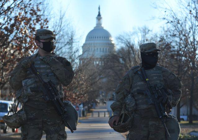 美國國民警衛隊成員