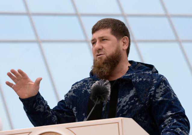 車臣領導人拉姆贊▪卡德羅夫