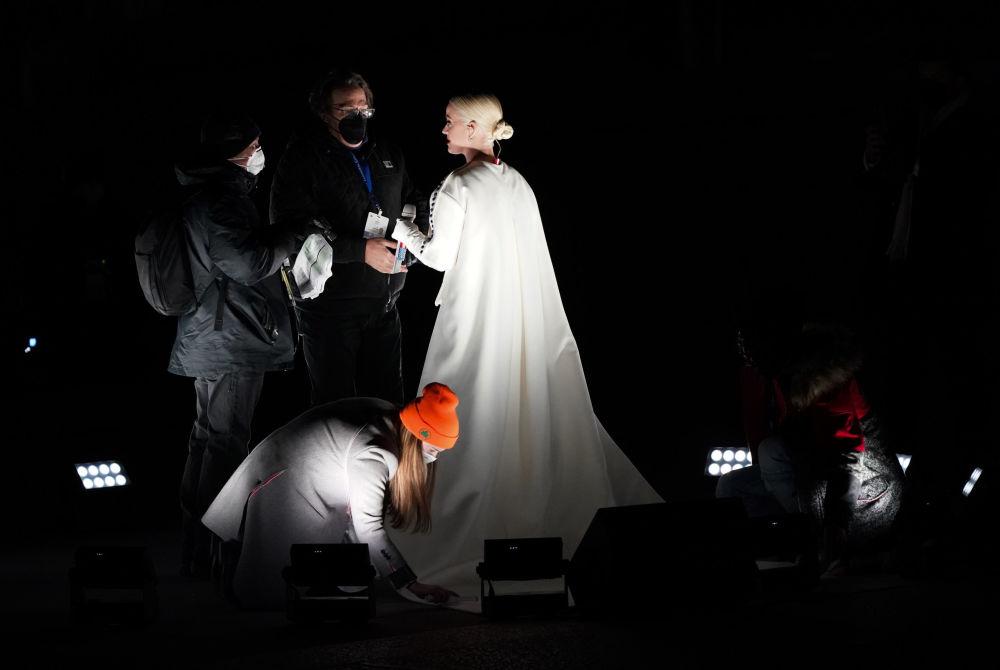 美國歌手凱特·佩里應邀參加總統就職慶典晚會