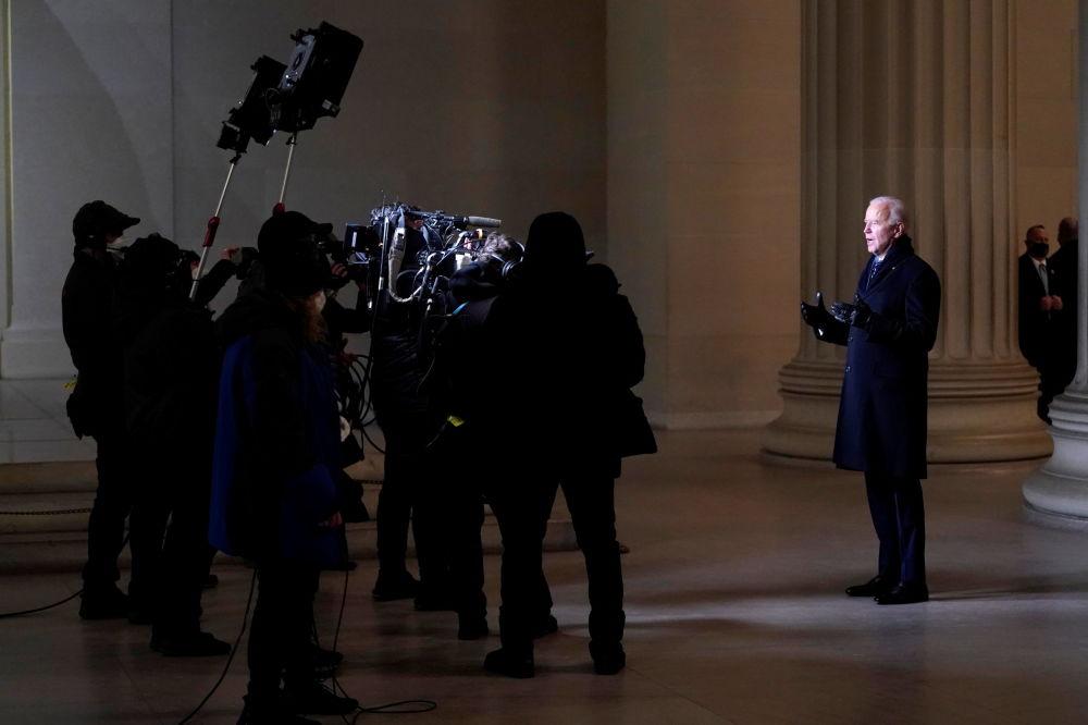 美國總統拜登發表全國講話