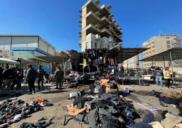 中方對伊拉克首都發生的爆炸襲擊予以強烈譴責