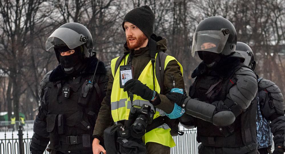 俄聖彼得堡非法集會被逮捕人數增至37人