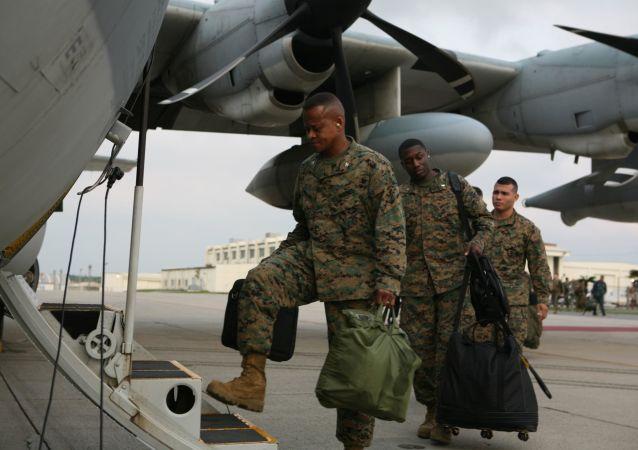 日本沖繩縣當局就美軍機低空飛行向美國表達抗議