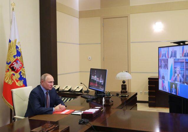 克宮:普京將在幾個月內恢復參加線下活動