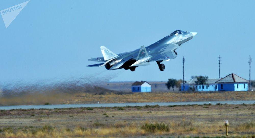 俄羅斯第五代戰機蘇-57