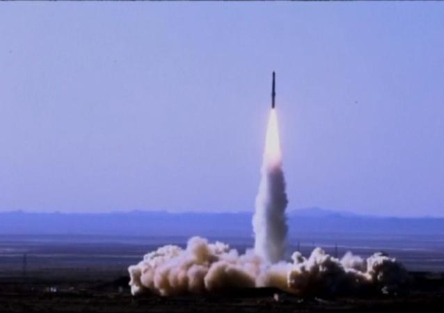伊朗成功試射新型衛星運載火箭