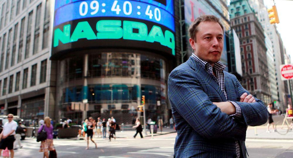 美國SpaceX公司總裁馬斯克