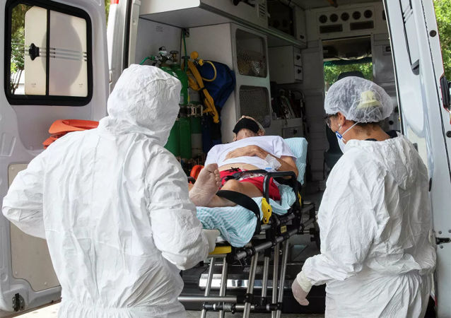 過去一天巴西新增新冠確診病例近4.3萬