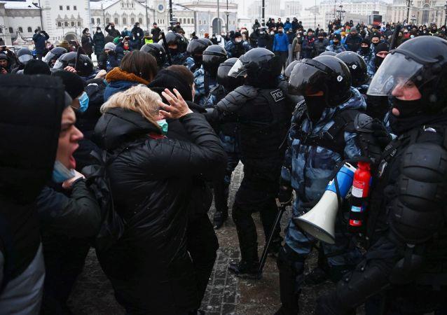 普京:抗議活動是俄羅斯的敵對勢力對局勢的利用