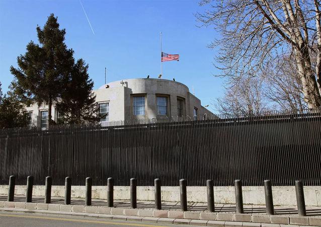 美國駐安卡拉大使館