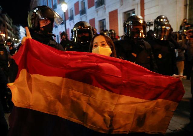 西班牙抗議活動