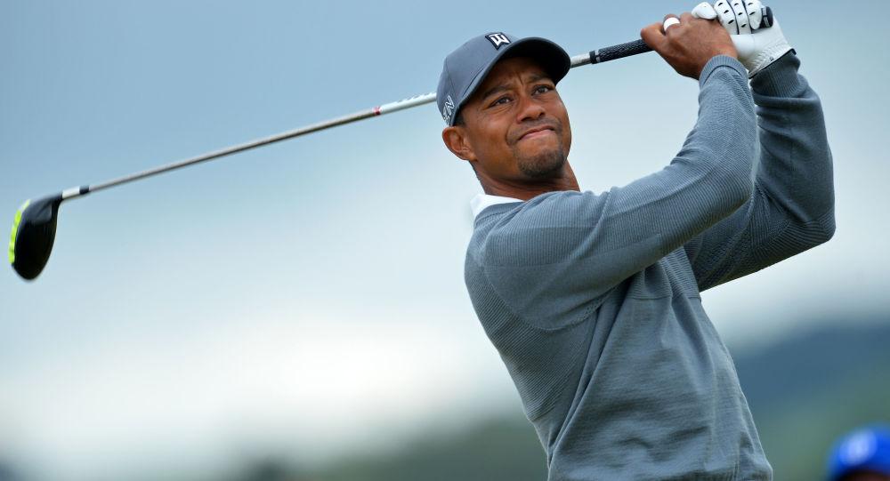 美國高爾夫球手泰戈爾•伍茲
