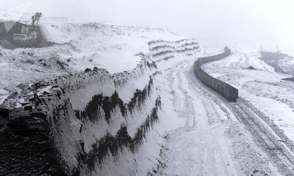 克拉斯諾達爾邊疆區博羅金煤礦。