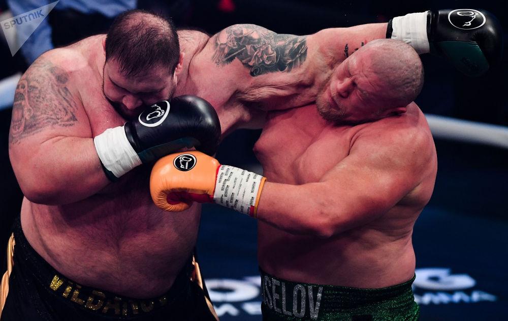 「拳擊之夜」拳擊運動秀。