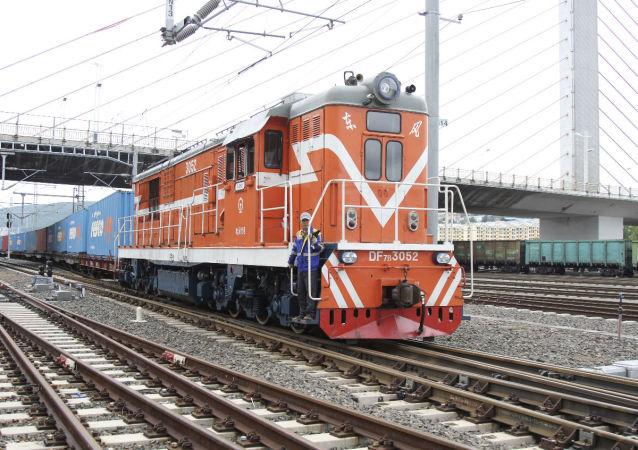 綏芬河鐵路口岸中歐班列